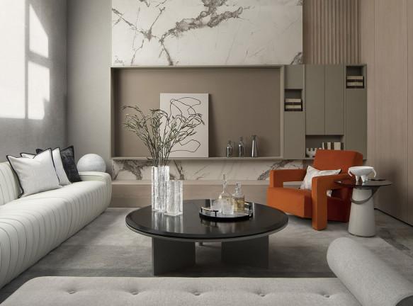 Минималистичная квартира в Даляне