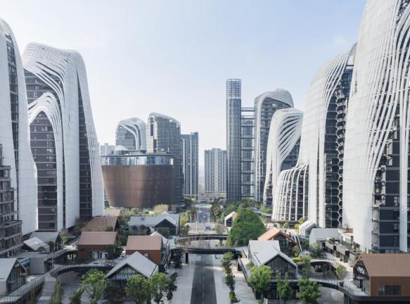 Новая городская среда по проекту MAD Architects