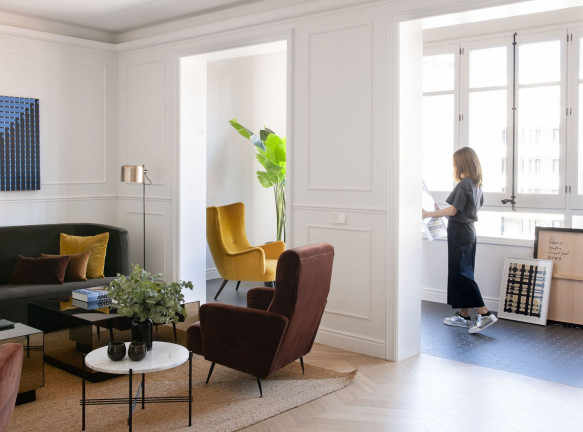 Перепланировка квартиры в Барселоне по проекту Mimouca Barcelona