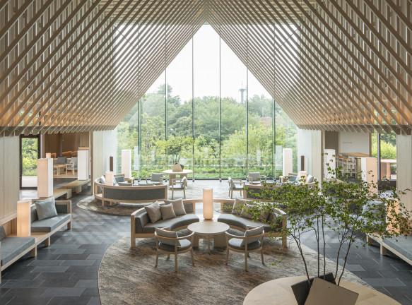 Отель well-being по проекту Гвенаэля Николя в Токио
