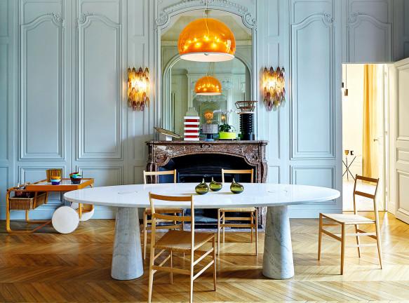 Сандра Бенаму: итальянский дизайн во французской столице