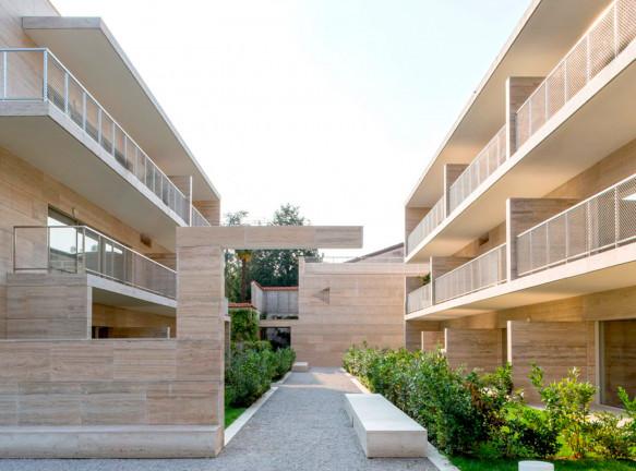 Алвару Сиза и COR Arquitectos: жилой комплекс в Ломбардии