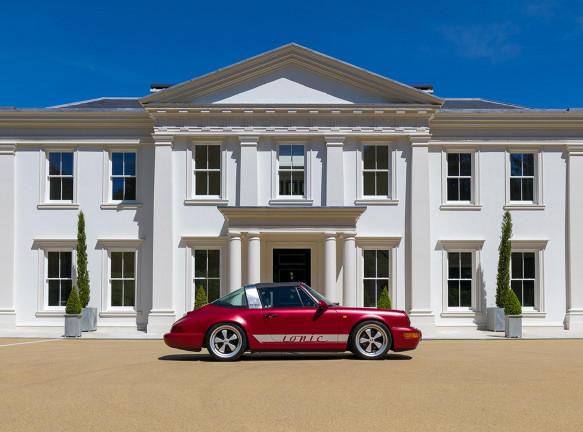 Классический Porsche превращен в электромобиль