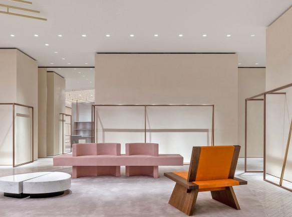 Концепт-стор в Шанхае по проекту итальянского архитектора Андреа Тоньона