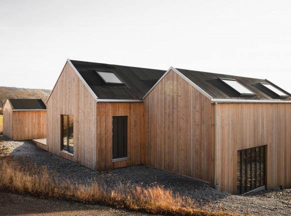 Norm Architects: деревянный дом в Швеции