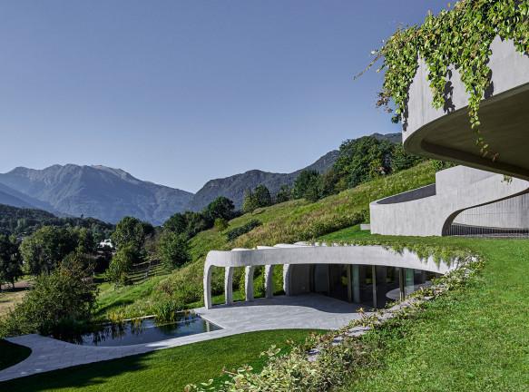 Дом-мастерская скульптора Элис Трепп в Швейцарии