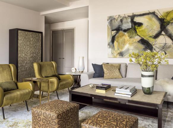 David Scott Interiors: семейная квартира на Манхэттене