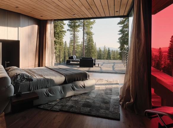 Faulkner Architects: дом в горах Калифорнии