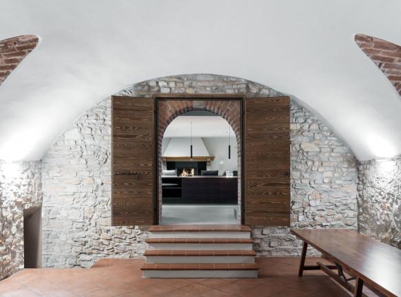 Реконструкция дома в Монтевеккья по проекту a25 architetti