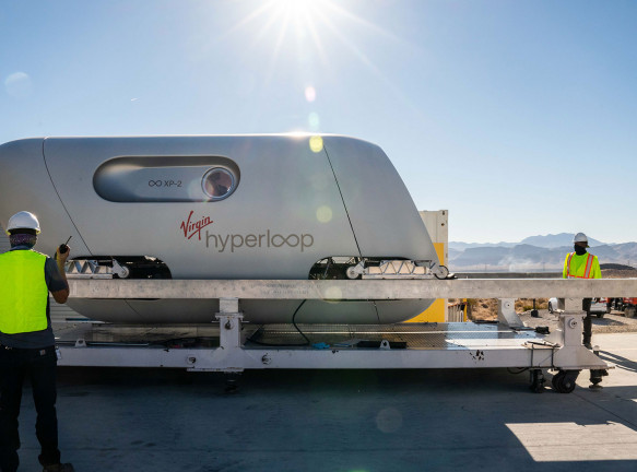 BIG и Kilo Design: самый быстрый в мире транспорт