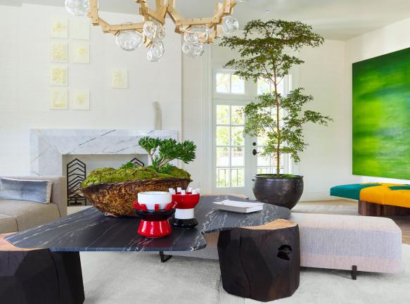 Семейная гостиная по проекту Applegate Tran Interiors