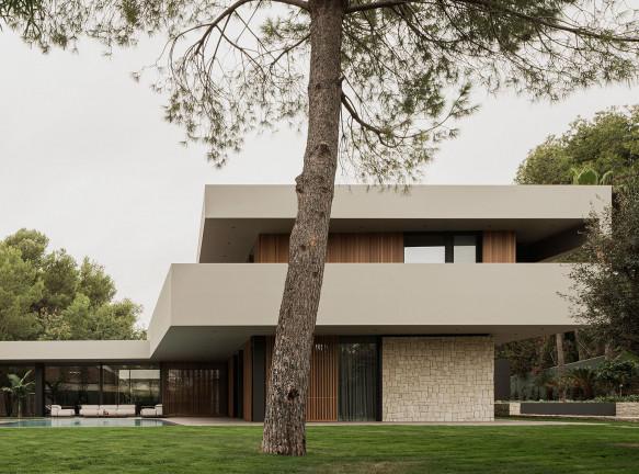 Дом в Валенсии по проекту Francesc Rifé Studio
