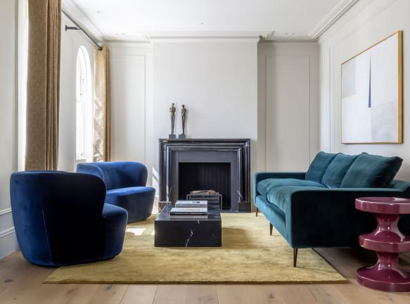 TR Studio: семейный дом в Челси