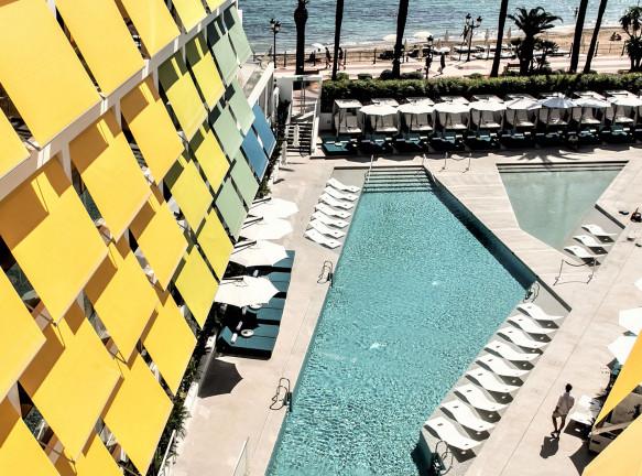 Отель W Ibiza по проекту Baranowitz + Kronenberg