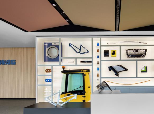 Ippolito Fleitz Group:  красочный офис компании Wörwag