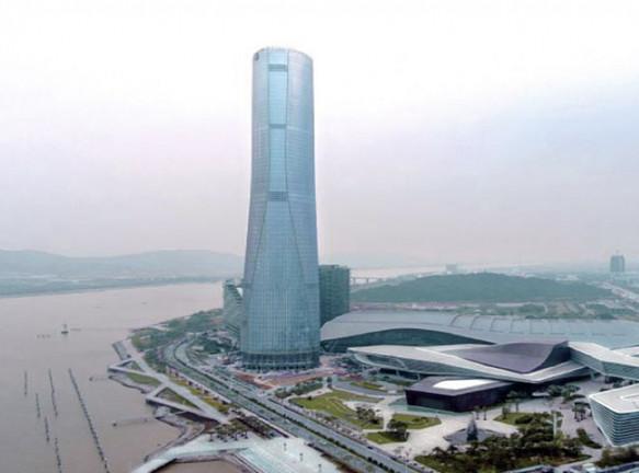 RMJM построили небоскреб в Китае