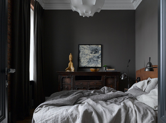 Aiya Design: современная квартира вместо бывшей коммуналки