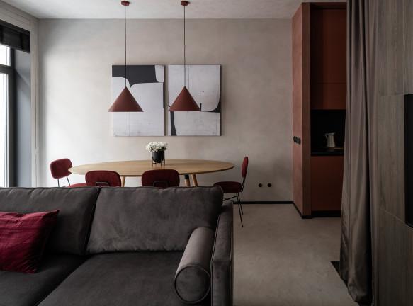 ArchSlon: маленькая квартира для временного пребывания