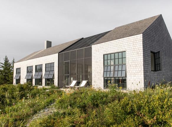 Деревянный дом в Новой Англии по проекту Berman Horn Studio