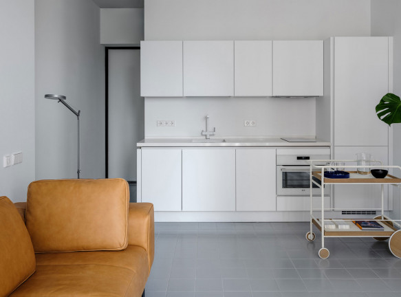 Buro5: модернистская квартира 43 кв. метра