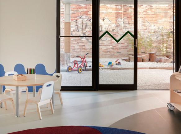 Даниэль Брустман: интерьер детского центра в Мельбурне