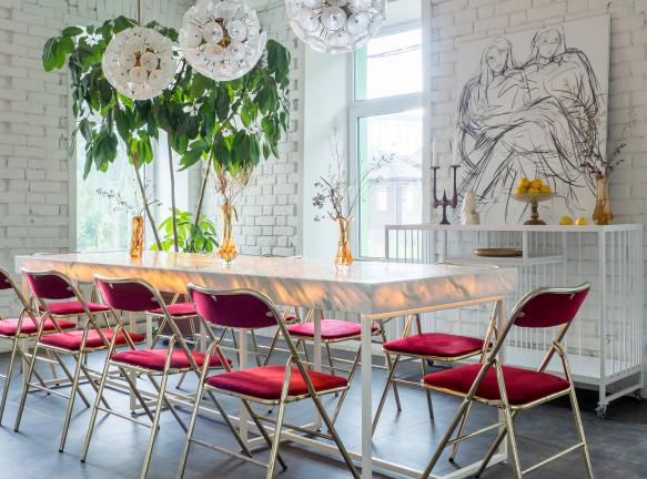 Винный бар в Нижнем Новгороде по проекту FruitDesign
