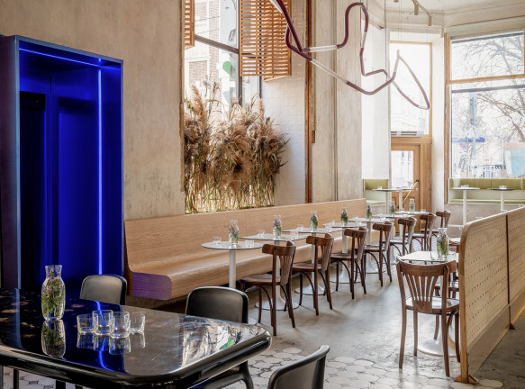 Veter design & architecture: кафе с историческими деталями в Москве