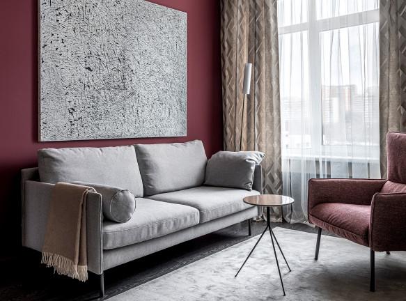 Квартира с итальянским цветом по проекту Ильи Гульянца