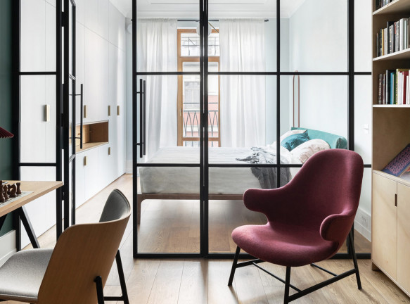 Katarsis Architects: квартира 90 кв. метров в Петербурге