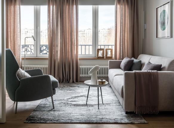 Татьяна Казанцева: квартира 45 кв. метров для семьи из трех человек