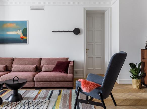 Алла Куница: эклектичная квартира в Краснодаре