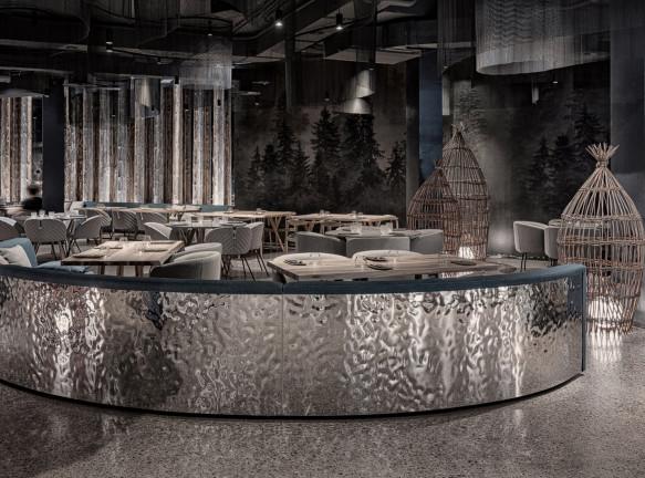 LEFT design: ресторан в Красноярске