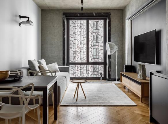 Марина Кисель: квартира для семьи скульптора