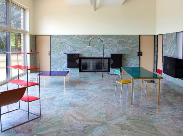 Muller Van Severen: бельгийский дизайн на вилле Кавруа
