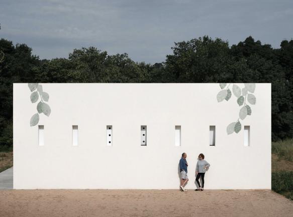 Дом художников Пита Санса и Регины Сауры в испанской провинции