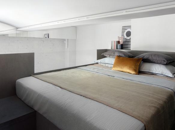 Архитектурное бюро PLY: квартира-студия 24 кв. метра в Москве