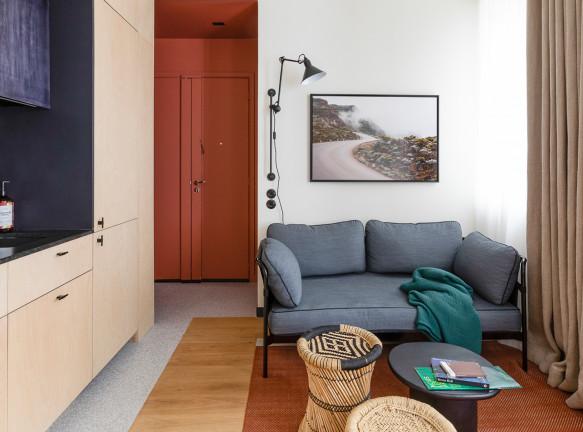 Маленькая квартира: 25 кв. метров в Париже