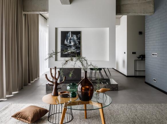 Елена Паунич: семейная квартира 110 кв. метров в Сочи
