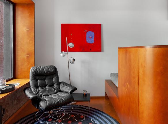 Room Design Büro: модернистская квартира 27 кв. метров