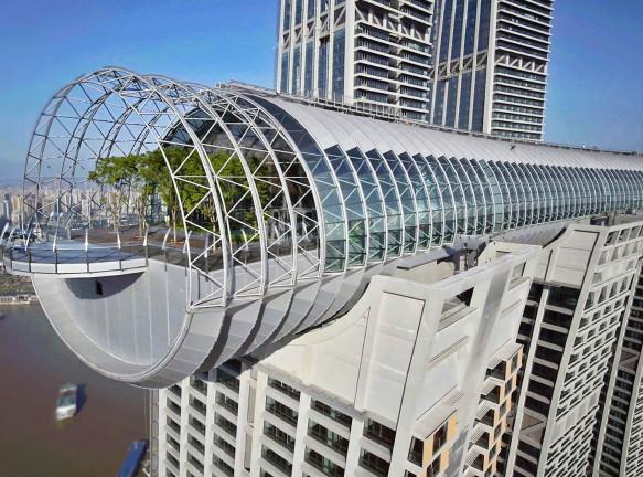 Safdie architects: горизонтальный небоскреб в Чунцине