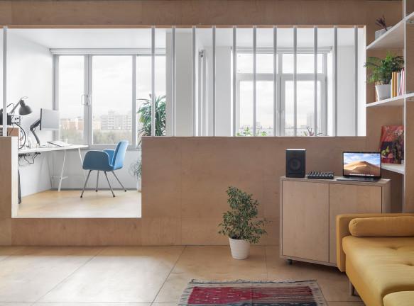 Бюро CXEMA: квартира 50 кв. метров в Москве