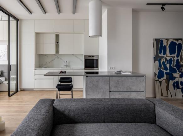 U Concept: лаконичная квартира 50 кв. метров в центре Киева