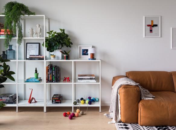 Вера Прохорова: маленькая квартира 46 кв. метров в Минске