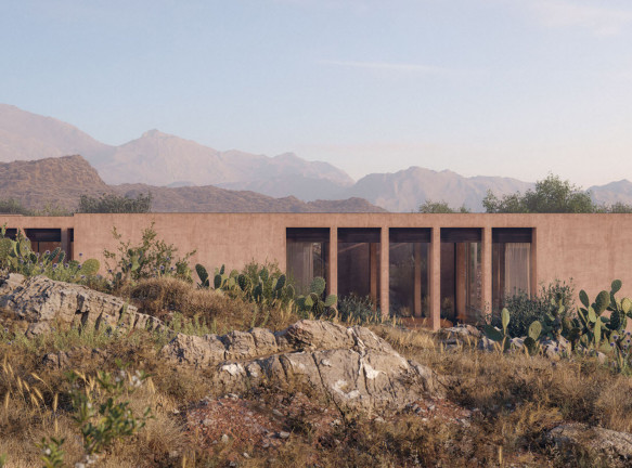 Carl Gerges Architects: вилла в ливанской пустыне