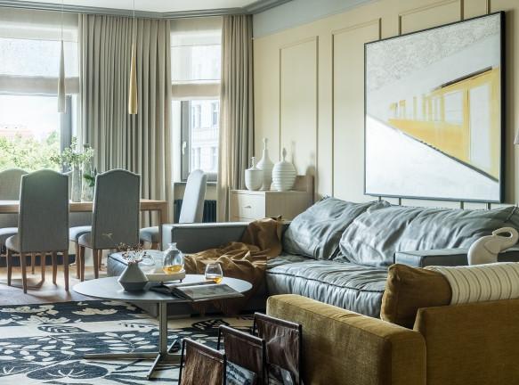 Наталия Вологдина-Аникина: семейная квартира 150 кв. метров в Москве