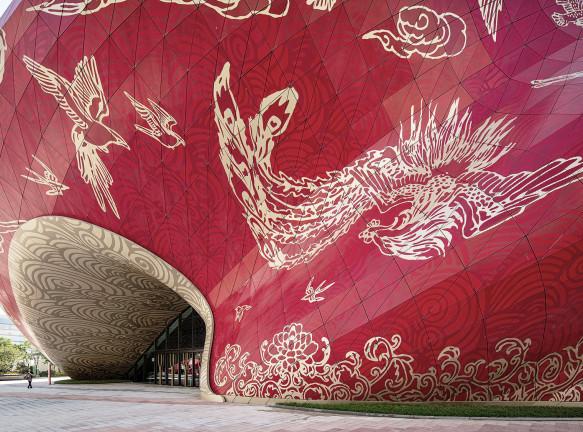 Steven Chilton Architects: театр с татуированным фасадом
