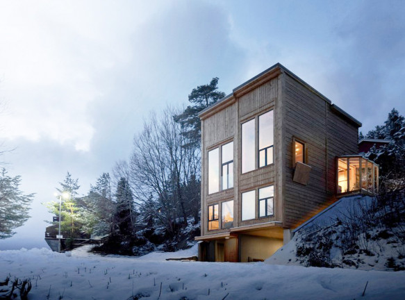 Скандинавский стиль в проекте Rever & Drage Architects