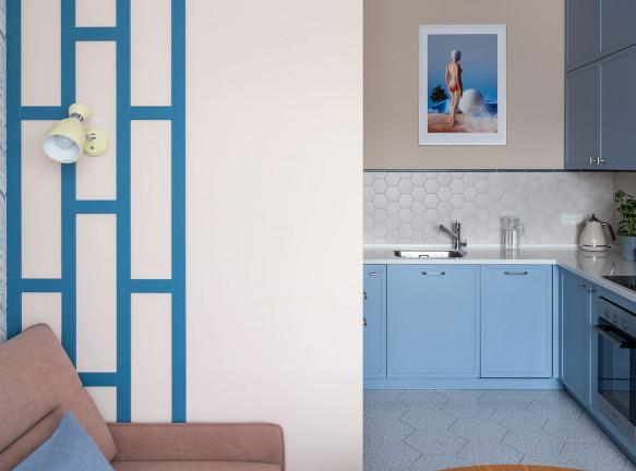 Мария Безрукова: маленькая квартира 41 кв. метр