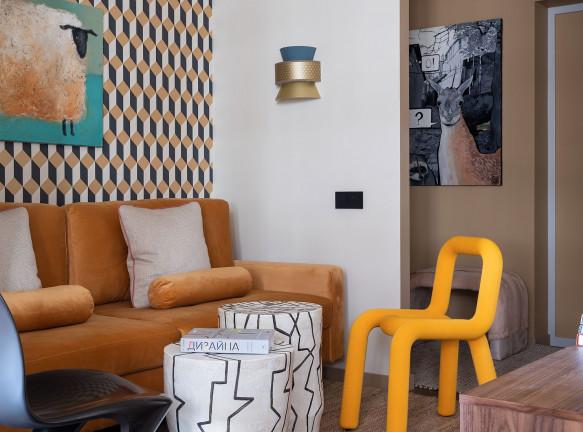 Евгения Дубровская: маленькая квартира для молодой девушки