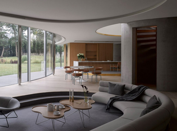 Дом-трилистник в Лондоне по проекту Eldridge London